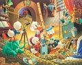 Memorabilia:Poster, Carl Barks An Embarrassment of Riches Signed Limited Edition Lithograph Print #300/395 (Another Rainbow, 1983)....
