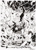 Original Comic Art:Illustrations, Chris Samnee - Superman Specialty Illustration Original Art (2019). ...