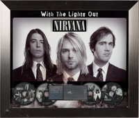 Nirvana With the Lights Out RIAA Hologram Platinum Sales Award (UME/Geffen, 2004)