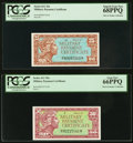 Military Payment Certificates:Series 611, Series 611 25¢ PCGS Superb Gem New 68PPQ; S...