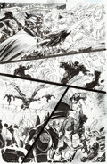 Original Comic Art:Panel Pages, Tom Derenick and Bill Sienkiewicz Reign in Hell #2 Page 8 Original Art (DC Comics, 2008)....