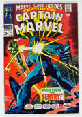 Silver Age (1956-1969):Superhero, Marvel Super-Heroes #13 Captain Marvel (Marvel, 1968) Condition: VF....