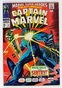 Marvel Super-Heroes #13 Captain Marvel (Marvel, 1968) Condition: VF