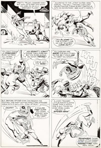 Steve Ditko Amazing Spider-Man #10 Story Page 17 Original Art (Marvel, 1964)