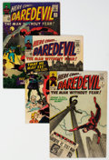 Silver Age (1956-1969):Superhero, Daredevil Group of 16 (Marvel, 1965-68) Condition: Average VG-.... (Total: 16 Comic Books)