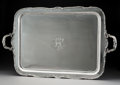 Silver & Vertu, A Gorham Mfg. Co. Two-Handled Silver Tray, Providence, Rhode Island, 1895. Marks: (lion-anchor-G), (date mark), STERLING...