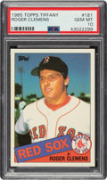 Baseball Cards:Singles (1970-Now), 1985 Topps Tiffany Roger Clemens #181 PSA Gem Mint 10....