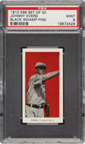 "Baseball Cards:Singles (Pre-1930), 1910 E98 ""Set of 30"" Johnny Evers (Red) PSA Mint 9 - Black Swamp Find. ..."