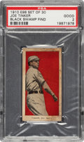 "Baseball Cards:Singles (Pre-1930), 1910 E98 ""Set of 30"" Joe Tinker (Red) PSA Good 2 - Black Swamp Find. ..."