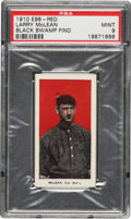 "Baseball Cards:Singles (Pre-1930), 1910 E98 ""Set Of 30"" Chief Larry McLean (Red) PSA Mint 9 - Black Swamp Find. ..."