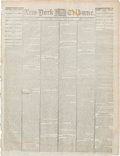Political:Miscellaneous Political, Abraham Lincoln: New York Daily Tribune April 15, 1865....Lincoln Assassination....