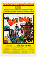 """Movie Posters:Action, Batman (20th Century Fox, 1966). Folded, Fine/Very Fine. One Sheet (27"""" X 41""""). Action.. ..."""
