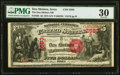 National Bank Notes:Iowa, Des Moines, IA - $5 1875 Fr. 405 The Des Moines National Bank Ch. # 2583 PMG Very Fine 30.. ...