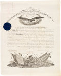 Autographs:U.S. Presidents, Abraham Lincoln: Military Appointment Document Signed [DS].. ...