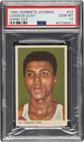 Boxing Cards:General, 1960 Hemmets Journal Cassius Clay (Muhammad Ali) Rookie #23 PSA Gem Mint 10 - The Finest Example Known to the Hobby!...