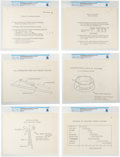 "Explorers:Space Exploration, NASA: Memorandum ""Problems Of LM Withdrawal From SLA"" (with Diagrams) Directly From The Armstrong Family Collection™, CAG ..."