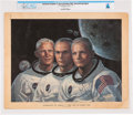 Explorers:Space Exploration, Neil Armstrong Signed Large Color Apollo 11 Art Print by Alton S. Tobey Directly From The Armstrong Family Collection™, CA...