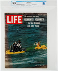 "Explorers:Space Exploration, Neil Armstrong's Personal Copy of the April 2, 1965, LIFE Magazine, ""The Astronauts' Own Story Gemini's Journey"", ..."