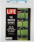 "Explorers:Space Exploration, Neil Armstrong's Personal Copy of the October 2, 1964, LIFE Magazine, ""THE WARREN REPORT, How the Commission P..."