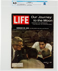 "Explorers:Space Exploration, Neil Armstrong's Personal Copy of the January 17, 1969, LIFE Magazine, ""Our Journey to the Moon"", Directly..."