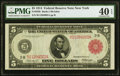 Fr. 833b $5 1914 Red Seal Federal Reserve Note PMG Extremely Fine 40 EPQ
