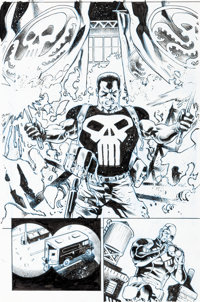 Joe Bennett and Scott Hanna Secret Empire Omega #1 Internal Splash Page 22 Original Art (Marvel Comics, 2017)