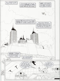 Cully Hamner Superman Metropolis Secret Files #1 Splash Page 3 Original Art (DC Comics, 2000)