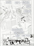 Original Comic Art:Panel Pages, Cully Hamner Superman Metropolis Secret Files #1 Story Page 4 Original Art (DC, 2000)....