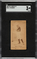 Baseball Cards:Singles (Pre-1930), 1887-90 N172 Old Judge Tim Keefe (#251-1-New York) SGC VG 3. ...
