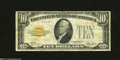 Small Size:Gold Certificates, Fr. 2400 $10 1928 Gold Certificate. Fine-Very Fine....