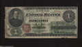 Fr. 16 $1 1862 Legal Tender Note Fine. This Greenback has nice color to go along with its three folds, but it has severa...