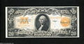Large Size:Gold Certificates, Fr. 1187 $20 1922 Gold Certificate Choice Crisp Uncirculated....