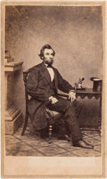 Photography:CDVs, Abraham Lincoln: Carte de Visite.. ...