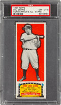 Baseball Cards:Singles (1950-1959), 1951 Topps Connie Mack All-Stars Lou Gehrig PSA NM-MT 8 - Pop One, None Higher! ...
