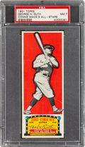 Baseball Cards:Singles (1950-1959), 1951 Topps Connie Mack All-Stars Babe Ruth PSA NM 7 - Pop Two, None Higher. ...