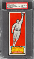 Baseball Cards:Singles (1950-1959), 1951 Topps Connie Mack All-Stars Honus Wagner PSA EX-MT 6. ...