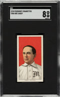 Baseball Cards:Singles (Pre-1930), 1909-11 T206 Piedmont Doc Casey SGC NM/MT 8 - Pop One, None Higher! ...