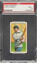 Baseball Cards:Singles (Pre-1930), 1909-11 T206 Piedmont Chick Gandil PSA NM+ 7.5 - Pop One, Five Higher....