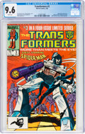 Modern Age (1980-Present):Cartoon Character, Transformers #3 (Marvel, 1985) CGC NM+ 9.6 White pages....