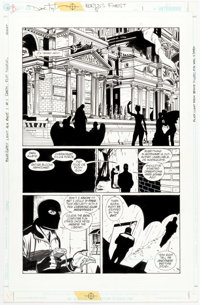 Dave Taylor and Robert Campanella World's Finest #5 Story Page 1 Original Art (DC, 1999)