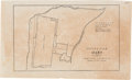 Military & Patriotic:Pre-Civil War, Texas War for Independence: Ground Plan for the Alamo....
