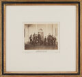 """Photography:Official Photos, George Meade and Staff: """"Incidents of the War"""" Mounted Albumen.. ..."""