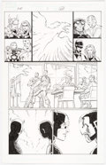 Original Comic Art:Panel Pages, John Romita Jr. and Scott Hanna Avengers vs. X-Men #1 Story Page 22 Original Art (Marvel Comics, 2012) ...