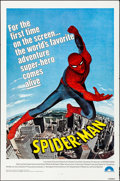 "Movie Posters:Action, Spider-Man (Columbia, 1977). Folded, Very Fine-. One Sheet (27"" X 41""). Action.. ..."