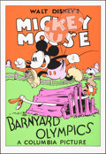 """Movie Posters:Animation, Barnyard Olympics (Circle Fine Art, R-1980). Rolled, Very Fine+. Fine Art Serigraphs (6) Identical (21"""" X 30.75""""). Animation... (Total: 6 Items)"""
