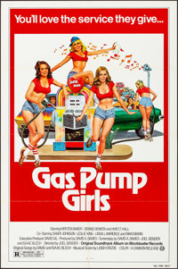 """Gas Pump Girls & Other Lot (Cannon, 1979). Folded, Overall: Very Fine-. One Sheets (Approx. 167) (27"""" X 41""""..."""