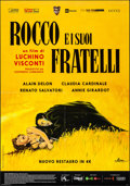 "Movie Posters:Foreign, Rocco and His Brothers (Cineteca Bologna, R-2016). Folded, Very Fine. Italian 2 - Fogli (38.5"" X 55""). Foreign.. ..."