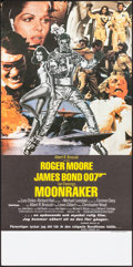 "Movie Posters:James Bond, Moonraker (United Artists, 1979). Rolled, Very Fine/Near Mint. Swedish Insert (12.25"" X 27.25""). Dan Goozee Artwork. James B..."