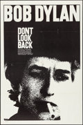 "Movie Posters:Rock and Roll, Don't Look Back (Leacock-Pennebaker, 1967). Folded, Very Fine-. One Sheet (27"" X 41""). Rock and Roll.. ..."