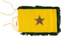 Military & Patriotic:WWII, Indonesian Army Chief of Staff Automobile Flag.